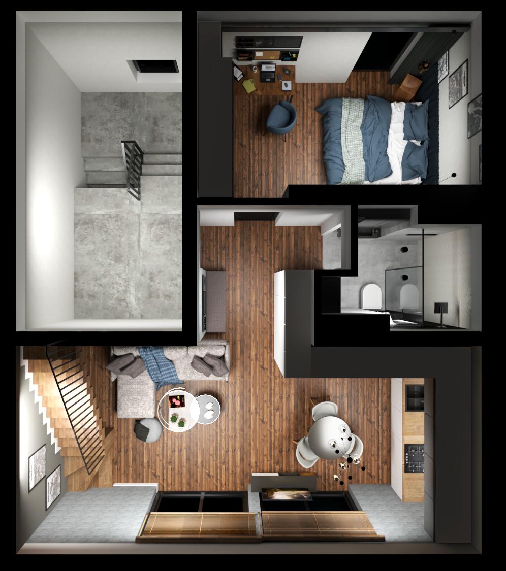 Nowe mieszkanie duże Skawina ponad 100m2